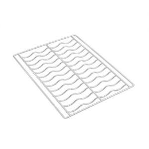 SMEG - Kit 4 griglie ondulate in filo cromato, 435x320mm 3735