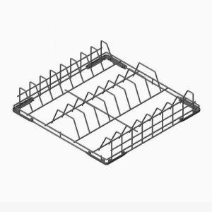 SMEG - Cesto in filo per n.18 piatti Ø 250 mm e vassoi self-service WB50D01