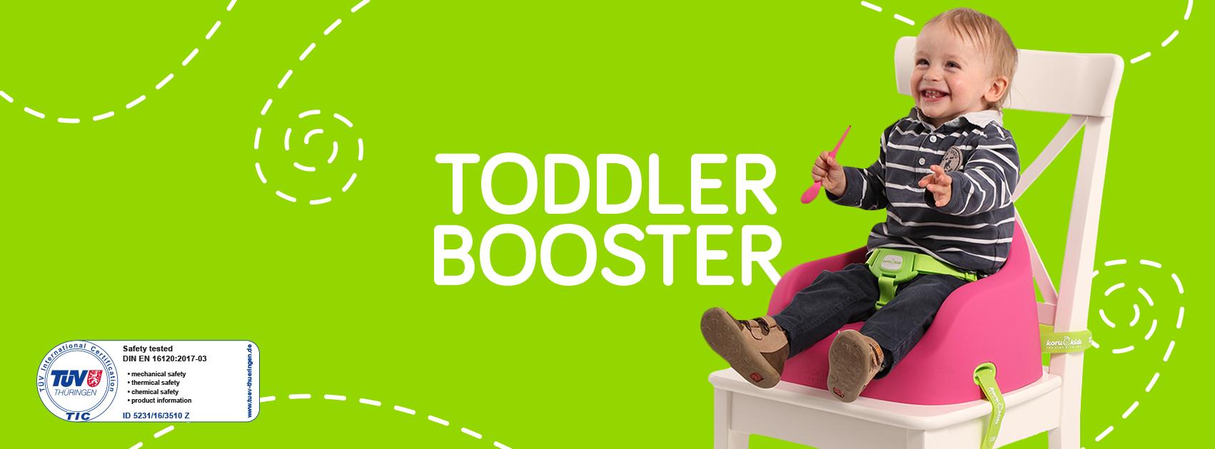 Junior Booster Fucsia– Seduti comodamente fino ai 6 anni!
