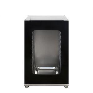 SMEG - Lievitatore in acciaio inox, riscaldato e umidificato, per teglie 435x320mm LEV43XV-2