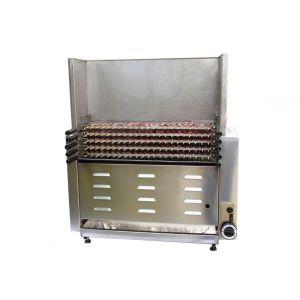 SELEZIONE STRAMENGA - Cuoci arrosticini a gas 66 spiedini spiedomatic S22/66G