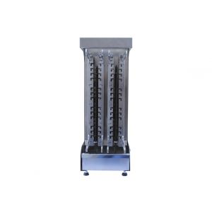 SELEZIONE STRAMENGA - Cuoci arrosticini elettrico 52 spiedini spiedomatic S 52 R
