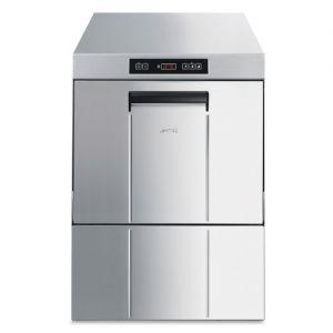 SMEG - Lavastoviglie sottobanco professionale, cesto 500x500 mm, a singola parete, dosatore detergente UD503D